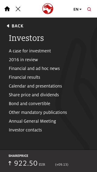 Mobile investor-open